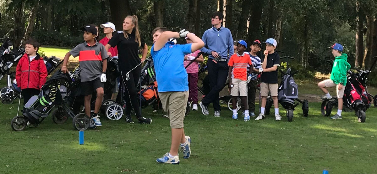 junior golf coaching